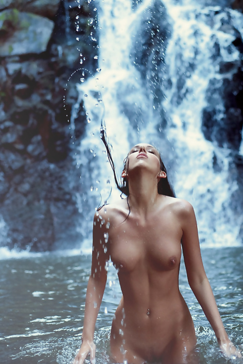 Sexy Waterfalls Id By Ecchiartist On Deviantart
