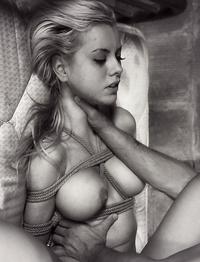 Horny Tied Girls Hard Nipples Photos