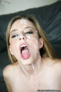 Beautiful sluts with cum all over faces
