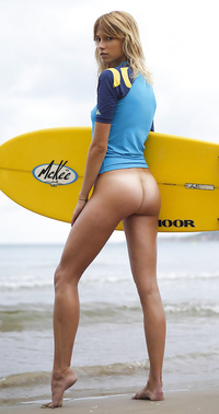 Sexy surfing girls