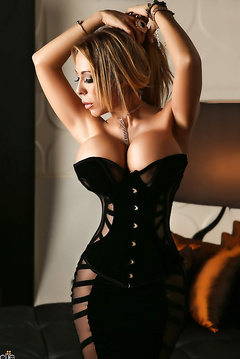 Beautiful angels in sexy corset
