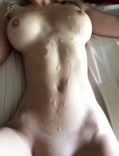 Messy cumshot porn pics