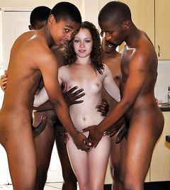 Hardcore interracial pictures