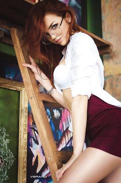 Redhead Katherin Sher