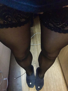 my stockings legs