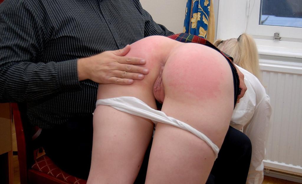 College lesbian spank
