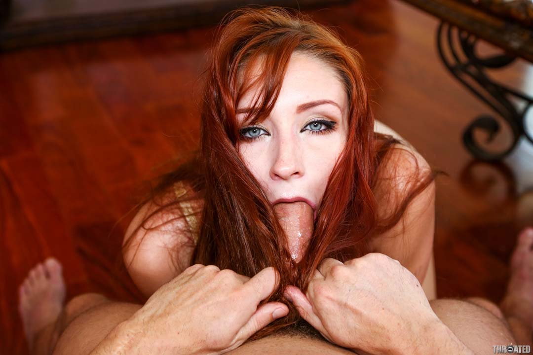 Watch busty redhead fucked deep and good