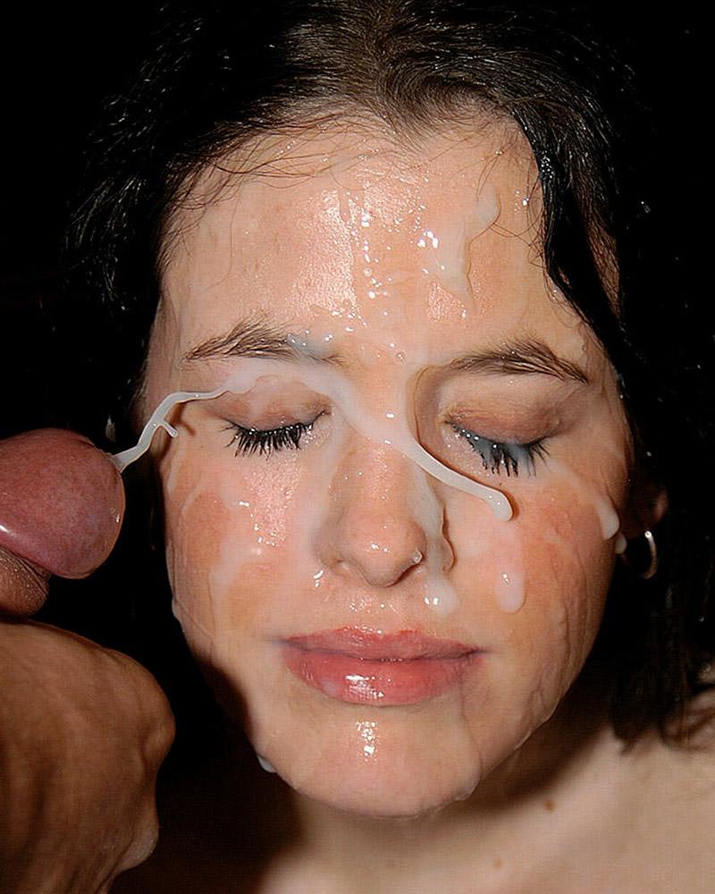 Cum on her face faith