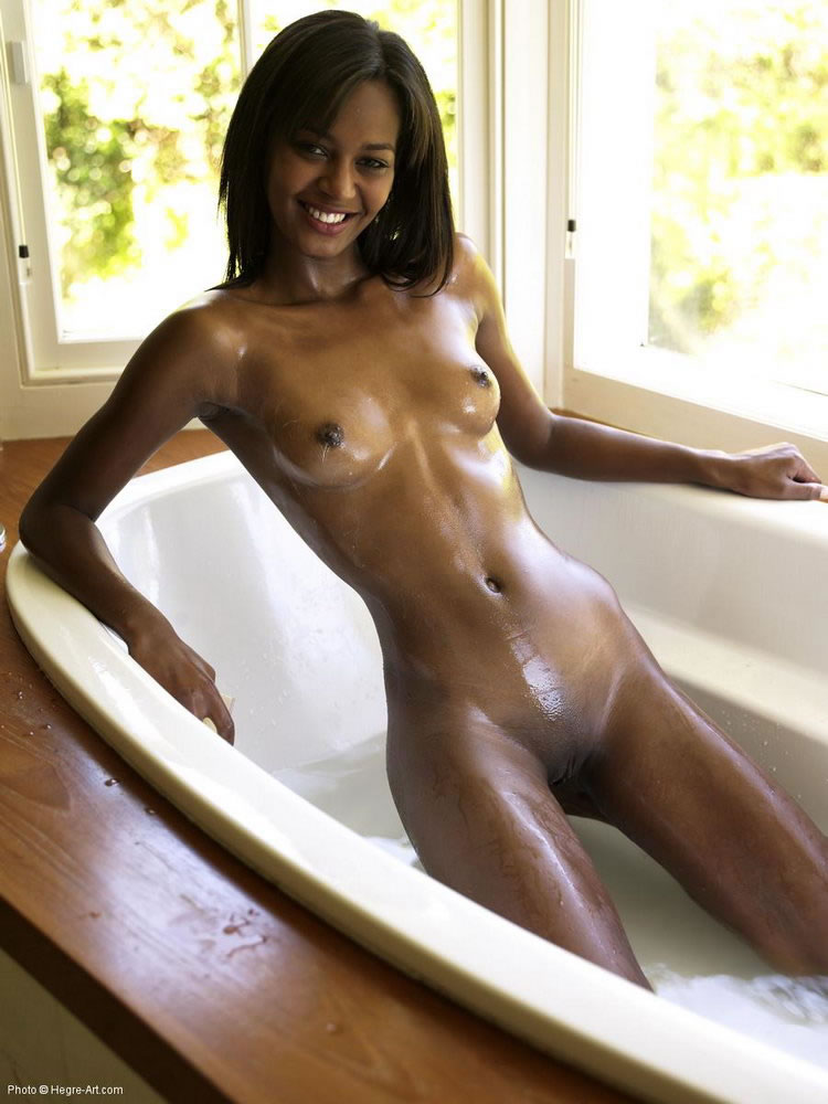 Nude black chicks