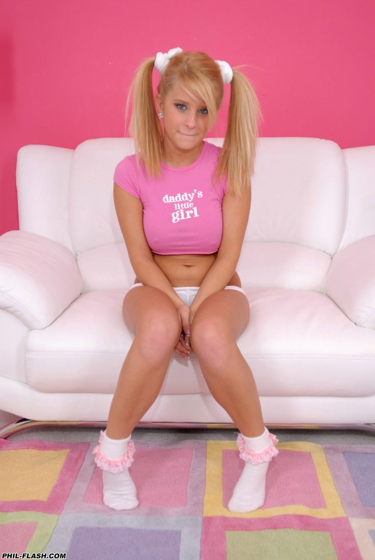 Sexy girls pigtails castng pussy