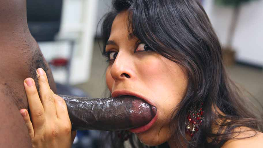 Sexy mixed mexican n black wife fucks huge bam best freind